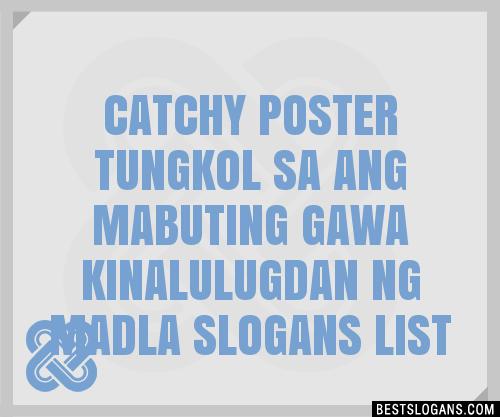 30+ Catchy Poster Tungkol Sa Ang Mabuting Gawa ...