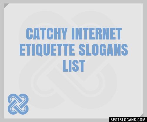 Etiquette internet examples of 7 Good