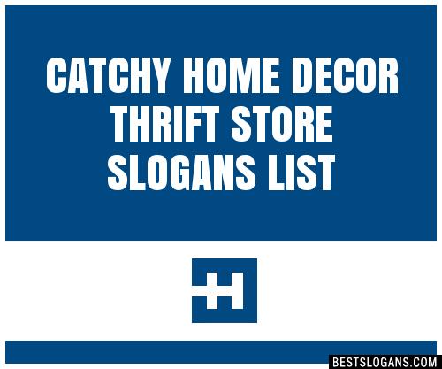Home Decor Names Ideas
